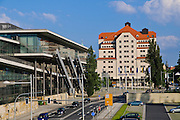 Erlweinspeicher (Maritim Kongress Hotel Dresden), Kongresszentrum,  Dresden, Sachsen, Deutschland.|.Erlweinspeicher (Maritim Kongress Hotel Dresden), congress center, Dresden, Germany