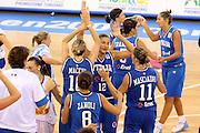 DESCRIZIONE : Ortona Italy Italia Eurobasket Women 2007 Serbia Italia Serbia Italy<br /> GIOCATORE : Federica Ciampoli<br /> SQUADRA : Nazionale Italia<br /> EVENTO : Eurobasket Women 2007 Campionati Europei Donne 2007 <br /> GARA : Serbia Italia Serbia Italy<br /> DATA : 01/10/2007 <br /> CATEGORIA : esultanza<br /> SPORT : Pallacanestro <br /> AUTORE : Agenzia Ciamillo-Castoria/E.Castoria<br /> Galleria : Eurobasket Women 2007 <br /> Fotonotizia : Ortona Italy Italia Eurobasket Women 2007 Serbia Italia Serbia Italy<br /> Predefinita :