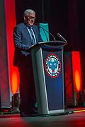 KELOWNA, CANADA - MARCH 19:  Bruce Hamilton at the Kelowna Rockets Awards Ceremony on March 19, 2017 at the Kelowna Community Theater in Kelowna, British Columbia, Canada.  (Photo By Cindy Rogers/Nyasa Photography,  *** Local Caption ***