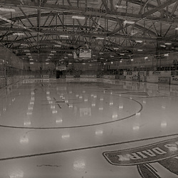 """TRENTON, ON  - MAY 5,  2017: Canadian Junior Hockey League, Central Canadian Jr. """"A"""" Championship. The Dudley Hewitt Cup. Game 7 between Georgetown Raiders and the Powassan Voodoos. The Duncan McDonald Memorial Gardens.<br /> (Photo by Tim Bates / OJHL Images)"""