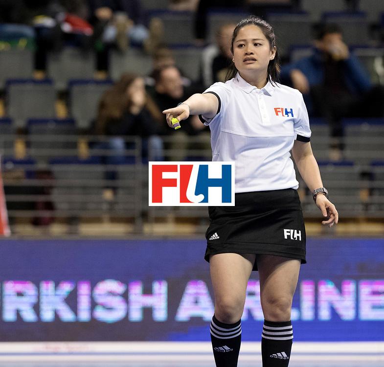 BERLIN - Indoor Hockey World Cup<br /> Women: Kazakhstan - Belarus<br /> foto: KITTITEERASOPON Ornpimol.<br /> WORLDSPORTPICS COPYRIGHT FRANK UIJLENBROEK