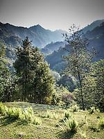 Annapurna Dhaulagiri trail views.
