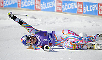 ALPINE SKIING - WORLD CUP 2011/2012 - SOELDEN (AUT) - 22/10/2011 - PHOTO : GIOVANNI AULETTA / PENTAPHOTO / DPPI - WOMEN GIANT SLALOM - Lindsey Vonn (USA)  / WINNER