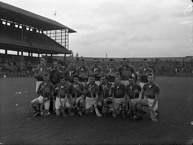 St. Brendan Cup Final, Tipperary v New York..Tipperary Team..09.10.1960
