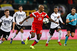 November 15, 2018 - Leipzig, Germany - Ari (C) of Russia in action during the international friendly match between Germany and Russia on November 15, 2018 at Red Bull Arena in Leipzig, Germany. (Credit Image: © Mike Kireev/NurPhoto via ZUMA Press)