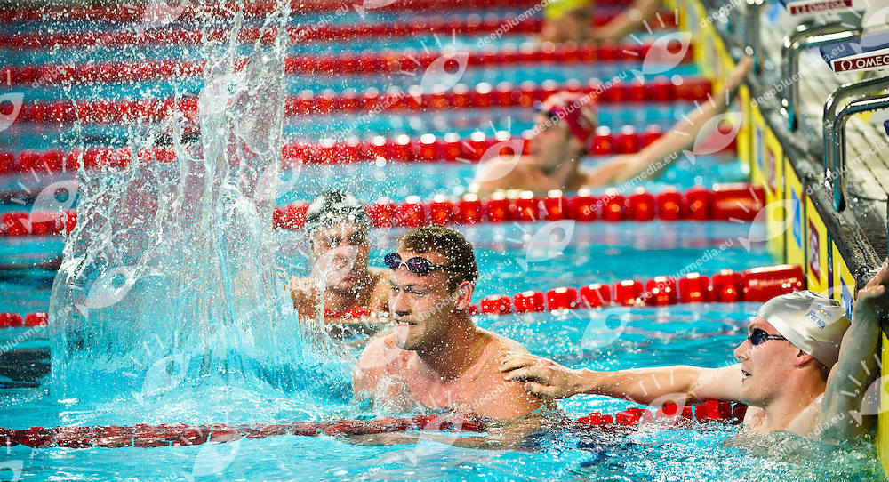 Glaesner Mads   DEN   Gold Medal.Men 1500m Freestyle Final.FINA World Short Course Swimming Championships.Istanbul Turkey 12 - 16 Dec. 2012.Day 05.Photo G.Scala/Deepbluemedia/Inside