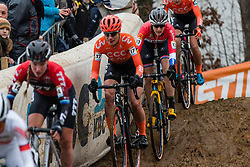 BRAND Lucinda (NED) during Women Elite race, 2019 UCI Cyclo-cross World Cup Heusden-Zolder, Belgium, 26 December 2019.<br /> <br /> Photo by Pim Nijland / PelotonPhotos.com <br /> <br /> All photos usage must carry mandatory copyright credit (Peloton Photos | Pim Nijland)