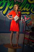 RACHEL JOHNSON, Rachel Johnson book launch of Fresh Hell, Acklam Village Market, Acklam Rd. London W10.