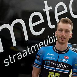 26-02-2016: Wielrennen: Persmoment Metec CT: Arnhem<br />ARNHEM (NED) wielrennen  <br />Raaltenaar Jasper Hamelink wil in 2016 proberen een grote overwinning te pakken