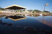 Divinopolis_MG, Brasil.<br /> <br /> Construcao abandonada na rodovia MG 050 em Divinopolis, Minas Gerais.<br /> <br /> A desert construction in Divinopolis in the highway MG 050 in Divinopolis, Minas Gerais.<br /> <br /> Foto: LEO DRUMOND / NITRO