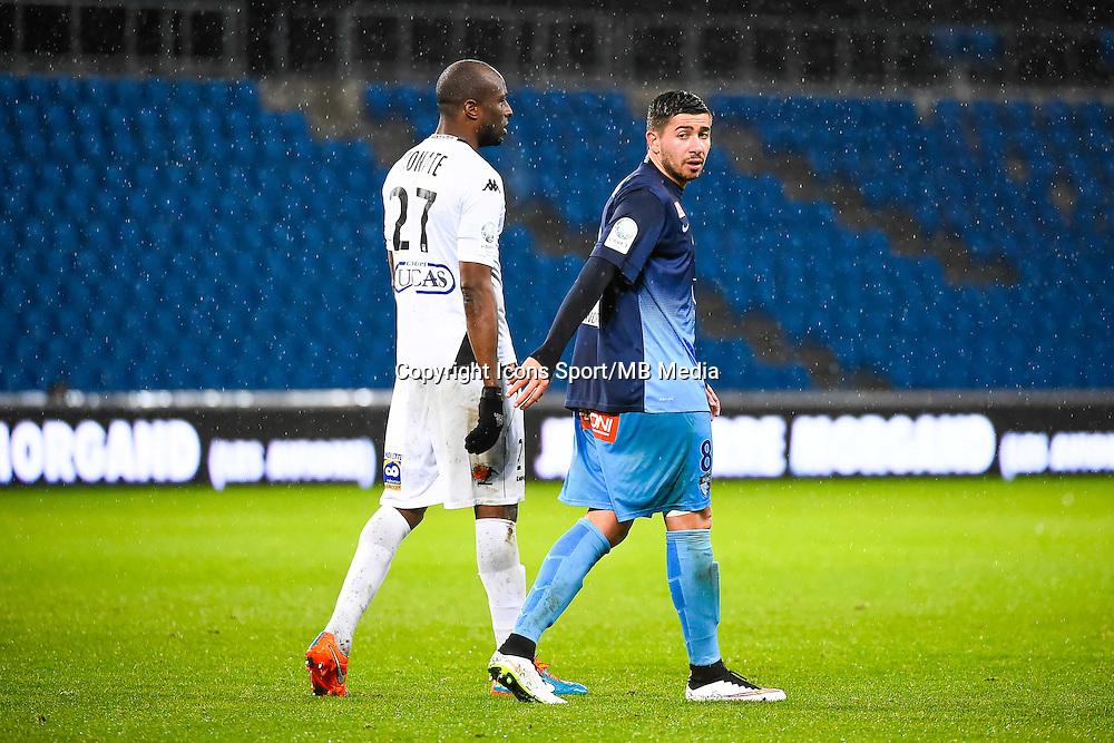 Mickael LE BIHAN  - 12.12.2014 - Le Havre / Laval - 17eme journee de Ligue 2 <br /> Photo : Fred Porcu / Icon Sport