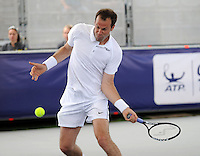 Brodies Champions of Tennis.<br /> Mark Phillipoussis takes on Greg Rusedski in the first match of the tournament.<br /> Pic shows: Greg Rusedski in action.