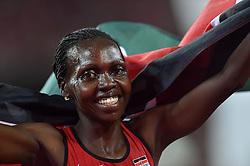 26-08-2015 CHN: IAAF World Championships Athletics day 5, Beijing<br /> Hyvin Kiyeng Jepkemoi won at 3000m steeplechase<br /> Photo by Ronald Hoogendoorn / Sportida