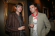Martin Hemming and Will Mott, New Collectors Evening. Grosvenor House Antiques Fair. Park Lane. 19 June 2007.  -DO NOT ARCHIVE-© Copyright Photograph by Dafydd Jones. 248 Clapham Rd. London SW9 0PZ. Tel 0207 820 0771. www.dafjones.com.