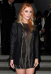 Ashley James attends the InStyle EE Rising Star Award BAFTAs party at 100 Wardour in London, UK. 04/02/2016<br />