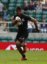 May 26, 2019 - Twickenham, England, United Kingdom - Dylan Collier of New Zealand .during The HSBC World Rugby Sevens Series 2019 London 7s Cup Quarter Final Match 30 between New Zealand and France at Twickenham on 26 May 2019. (Credit Image: © Action Foto Sport/NurPhoto via ZUMA Press)
