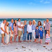 Young (Anna) Family Beach Photos