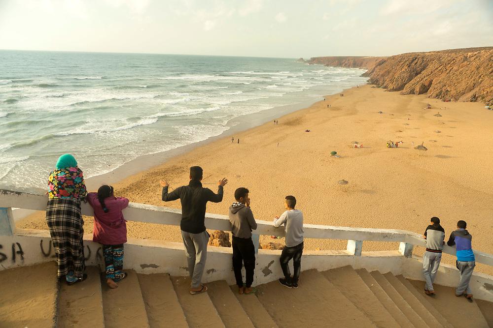 Imin Tourga beach, Mirleft, Southern Morocco, 2016-05-29.