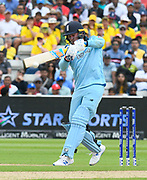 Jason Roy of England batting during the ICC Cricket World Cup 2019 semi final match between Australia and England at Edgbaston, Birmingham, United Kingdom on 11 July 2019.