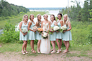 Katie + Brent La Pointe, Wisconsin Wedding - Wedding on Madeline Island
