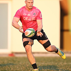 Jean-Luc du Preez of the Cell C Sharks during the Cell C Sharks training, Jonsson Kings Park Stadium,Durban South Africa.27,06,2018 Photo by (Steve Haag REX Shutterstock )