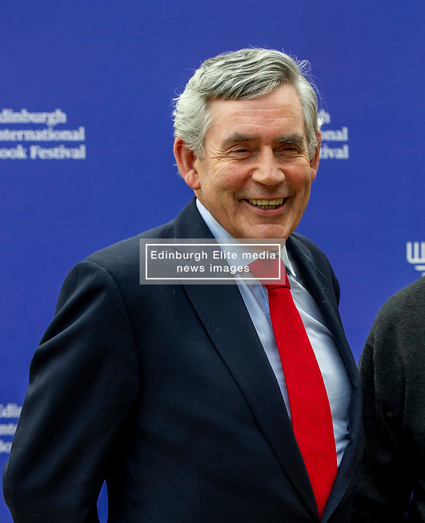 Pictured: Gordon Brown<br /><br />James Gordon Brown HonFRSE (born 20 February 1951) is a British politician who was Prime Minister of the United Kingdom and Leader of the Labour Party from 2007 to 2010. He served as Chancellor of the Exchequer from 1997 to 2007.<br /><br />Ger Harley | EEm 14 August 2019