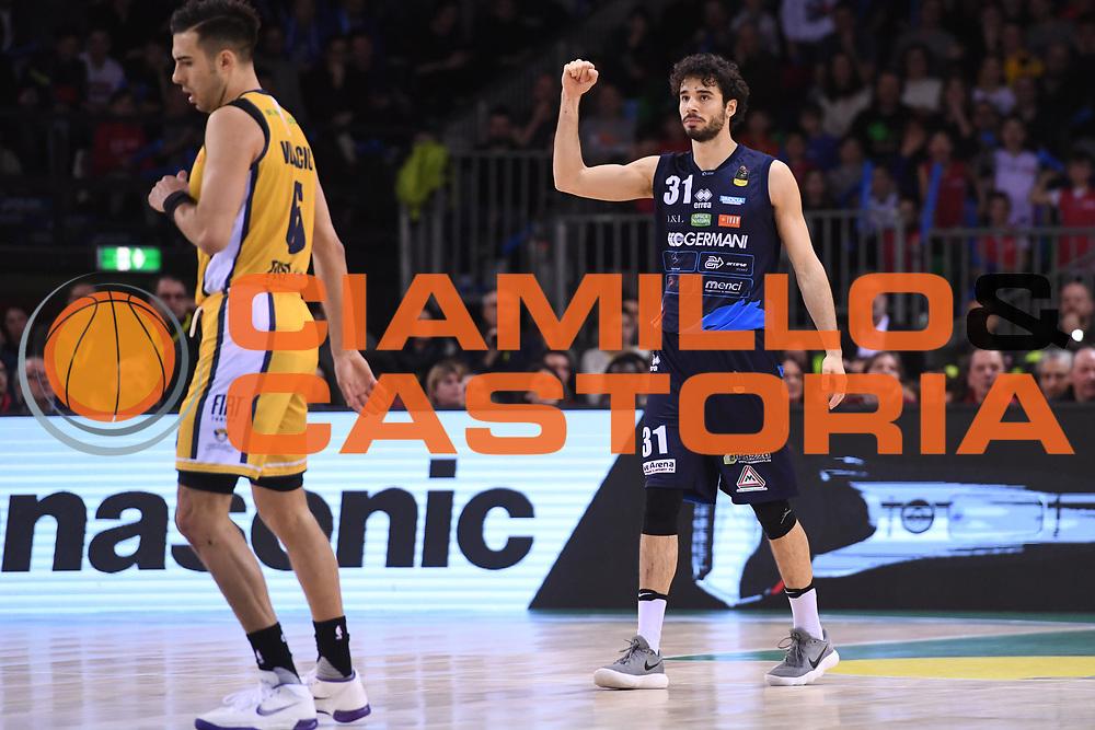 Vitali Michele<br /> Fiat Auxillium Torino - Germani Basket Brescia<br /> Postemobile Final 8 2018<br /> Firenze, 18/02/2018<br /> Foto Ciamillo-Castoria