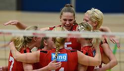 16-11-2013 VOLLEYBAL: KING SOFTWARE VCN - PRIMA DONNA KAAS HUIZEN: CAPELLE AAN DEN IJSSEL<br /> Huizen wint met 3-2 van VCN / Ruth Minderhoud<br /> &copy;2013-FotoHoogendoorn.nl