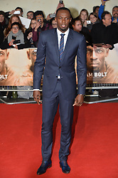 © Licensed to London News Pictures. 28/11/2016. USAIN BOLT attend's the I Am Bolt world film premiere. London, UK. Photo credit: Ray Tang/LNP
