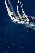 Avalon racing in the St. Barth Bucket regatta.