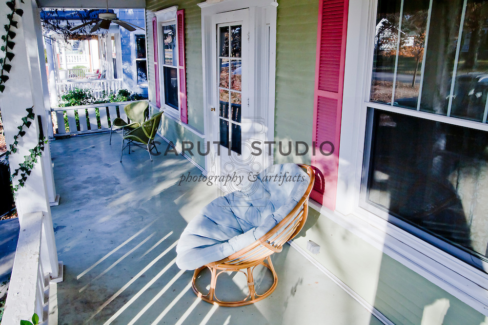Front porch before makeover