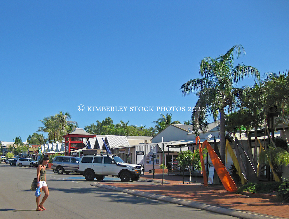 Dampier Terrace, Broome, the pearl capital of Australia.