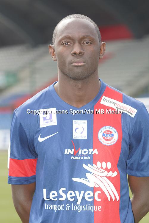 Massamba Lo SAMBOU - 04.08.2013 - Photo Offficielle Chateauroux - <br /> Photo : Icon Sport