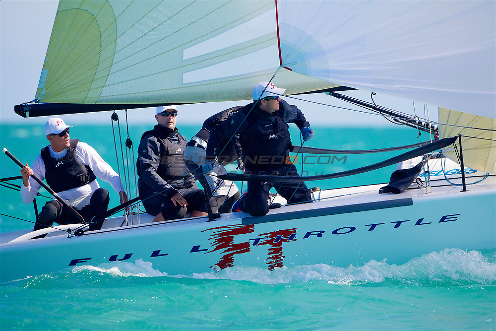 Quantum Key West 2013, fourth day of racing. Winner of melees 24 division , full throttle   Brian Porter USA 749