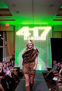 417 Magazine's 2014 10 Most Beautiful winner walks down the runway.