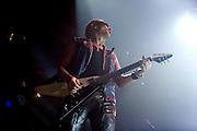 Frankfurt am Main | 12.05.2010..Die Deutsche Rock-Band Scorpions live in der Festhalle in Frankfurt bei ihrer Farewell-Tour, hier: Gitarrist Rudolf Schenker...Foto: peter-juelich.com..[No Model Release | No Property Release]