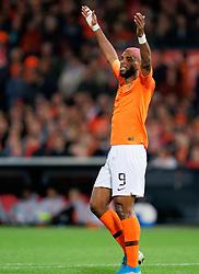 10-10-2019 NED: Netherlands - Northern Ireland, Rotterdam<br /> UEFA Qualifying round Group C match between Netherlands and Northern Ireland at De Kuip in Rotterdam / Ryan Babel #9 of the Netherlands