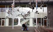 Den Haag,  27 januari  2015.<br /> Gesoten filiaal V&amp;D aan de Leyweg, de winkel wordt leeggehaald.<br /> Grote Marktstraat 50<br /> ANP MARTIJN BEEKMAN