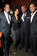 7 April 2011- New York,  NY- l to r: Robert Smith, Alicia Maybanks, Lesey Cooper and Kenny Johnsonat Uptown Magazine Presents the National Action Network's Executive Director's Reception held at the The Empire Room in the Empire State Building on April 7, 2011 in New York City. Photo Credit: Terrence Jennings