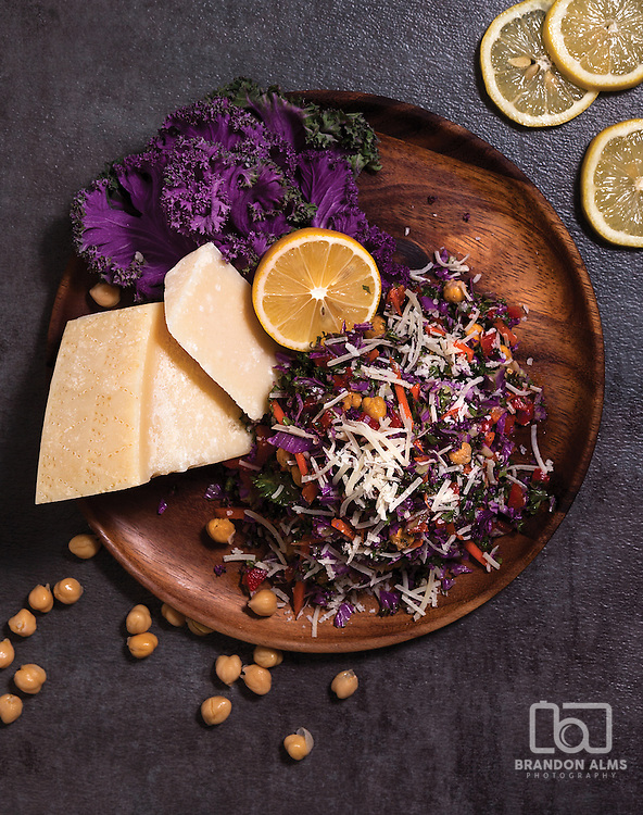 Colorful salad photo by Brandon Alms Photography.