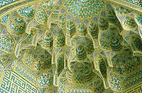 Iran. Esfahan. Ispahan. Medersah de la mere du shah // Iran. Ispahan (Esfahan). Mother of Shah medersa.