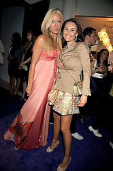 Left to right, CAPRICE and Gabriella Cilmi at The Ralph Lauren Sony Ericsson WTA Tour Pre-Wimbledon Party hosted by Richard Branson at The Roof Gardens, London on June 18, 2009