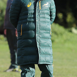 DUBLIN, IRELAND - NOVEMBER 04: Heyneke Meyer (Head Coach) of South Africa during the South African National rugby team training session at Blackrock College RFC on November 04, 2014 in Dublin, Ireland. (Photo by Steve Haag/Gallo Images)