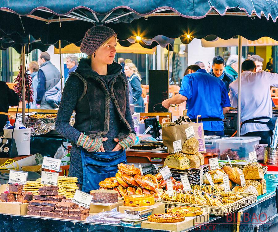 Food market. Covent Garden. London, England, United kingdom, Europe.
