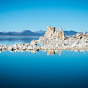 Reflections at Mono Lake, CA.
