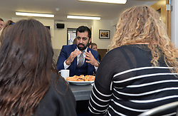 Justice Secretary Humza Yousaf get's the views of school children at the launch the consultation in Edinburgh.<br /> <br /> © Dave Johnston / EEm