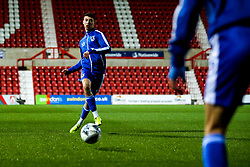 Ollie Hulbert of Bristol Rovers warms up - Mandatory by-line: Robbie Stephenson/JMP - 29/10/2019 - FOOTBALL - County Ground - Swindon, England - Swindon Town v Bristol Rovers - FA Youth Cup Round One