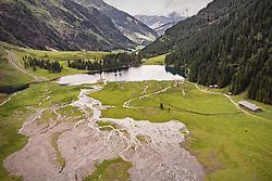 THEMENBILD - Blick auf den Hintersee, aufgenommen am 23. Juni 2019 in Mittersill, Österreich // View of the Hintersee, Mittersill, Austria on 2019/06/23. EXPA Pictures © 2019, PhotoCredit: EXPA/ JFK