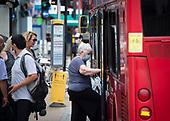 Wimbledon shops & buses 15th June 2020