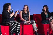 Marjan Safinia, President, International Documentary Association, Agigail Disney, Presdient, Fork Films and Allison Yarrow, Author and Journalist